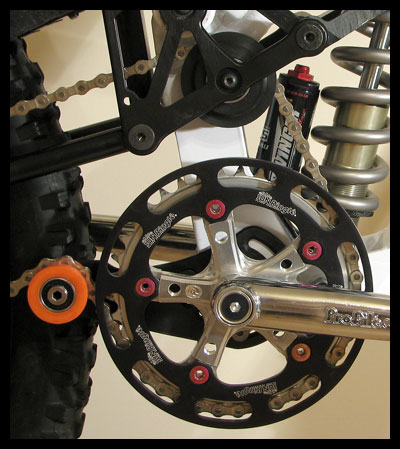 Balfa BB7 chain guide positioning
